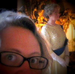 [photo: I totally met the Queen]