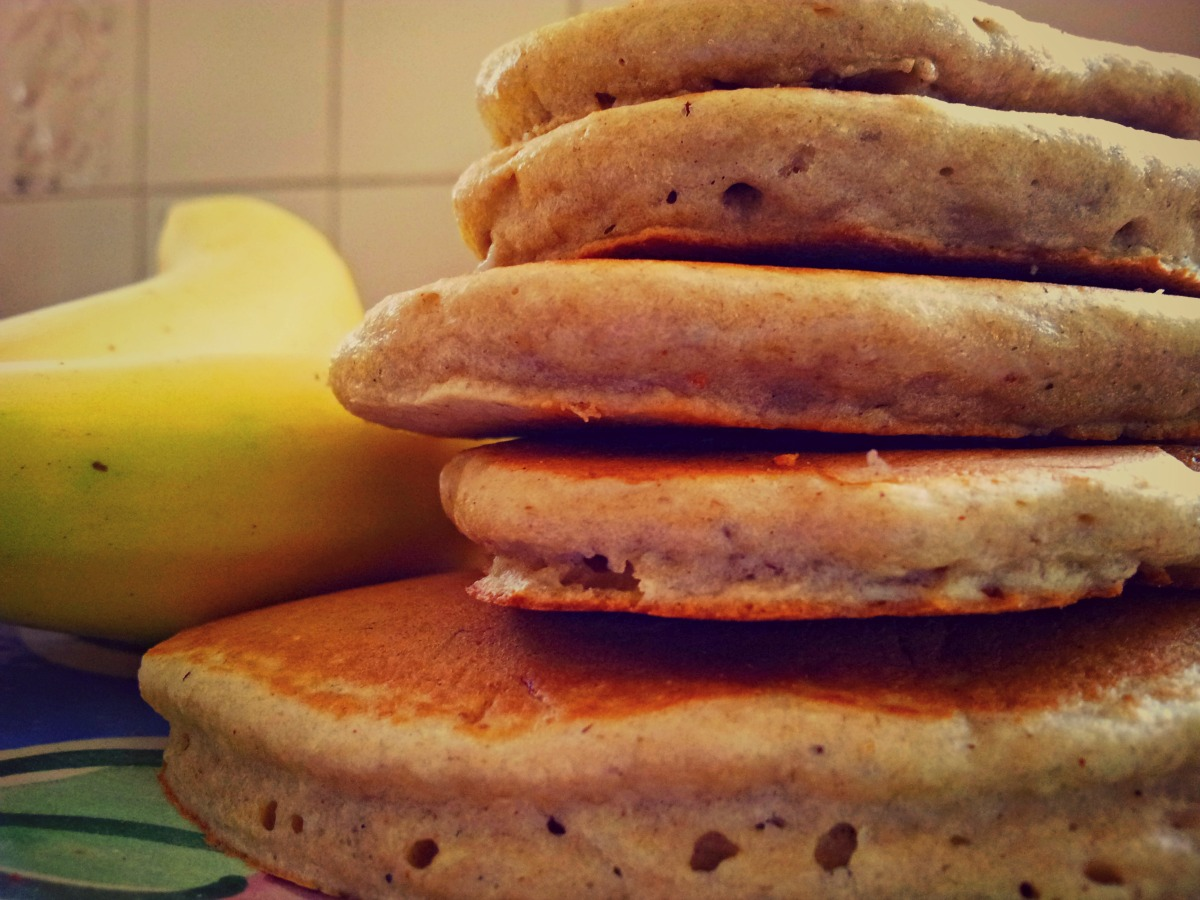 Oat flour pancakes | Crumpets in Camelot